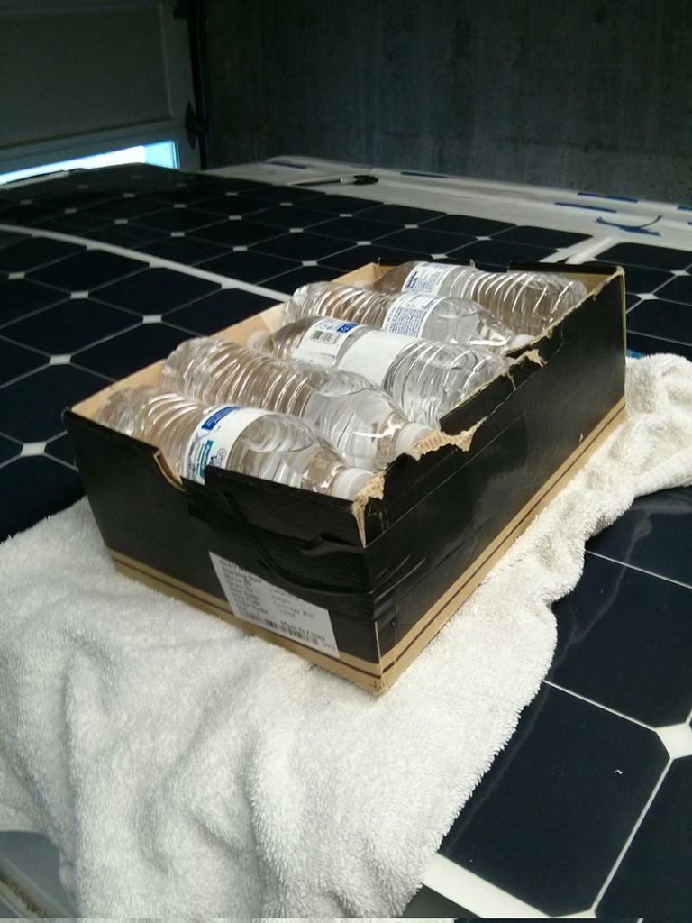Mounting Flexible Solar Panels On A Van Hurried Year
