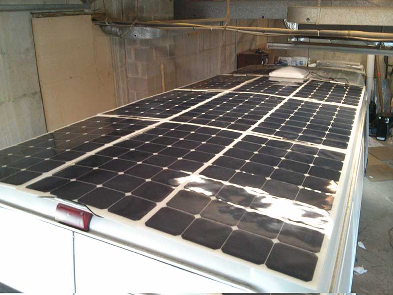 Van Conversion Wiring 1 000 Watt Solar System Hurried Year