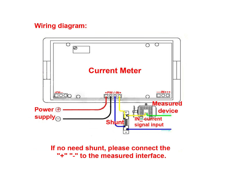 current meter wiring