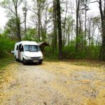Van at Bankhead National Forest