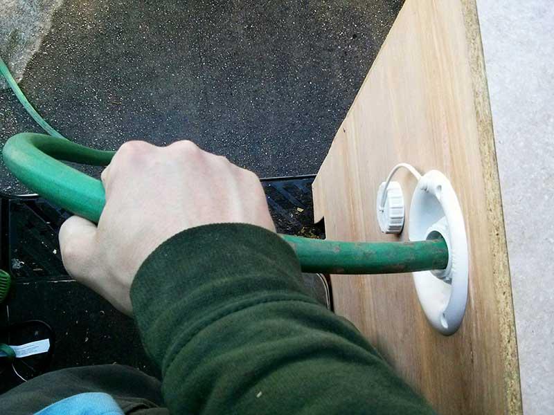 hose filling