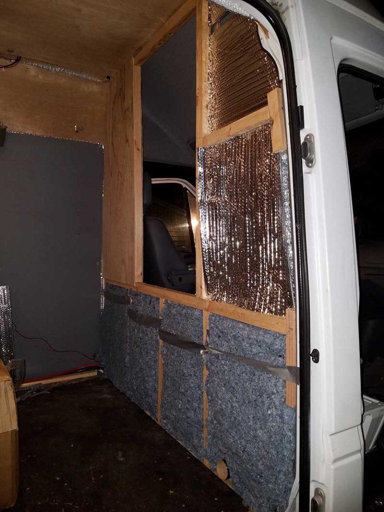 Diy Sprinter Van Partition Hurried Year