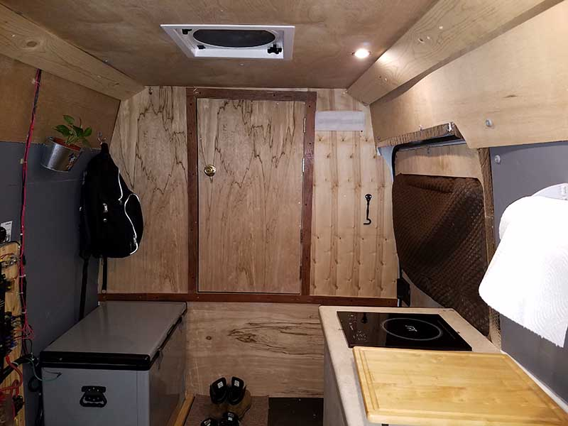 DIY Sprinter Van Partition | Hurried Year